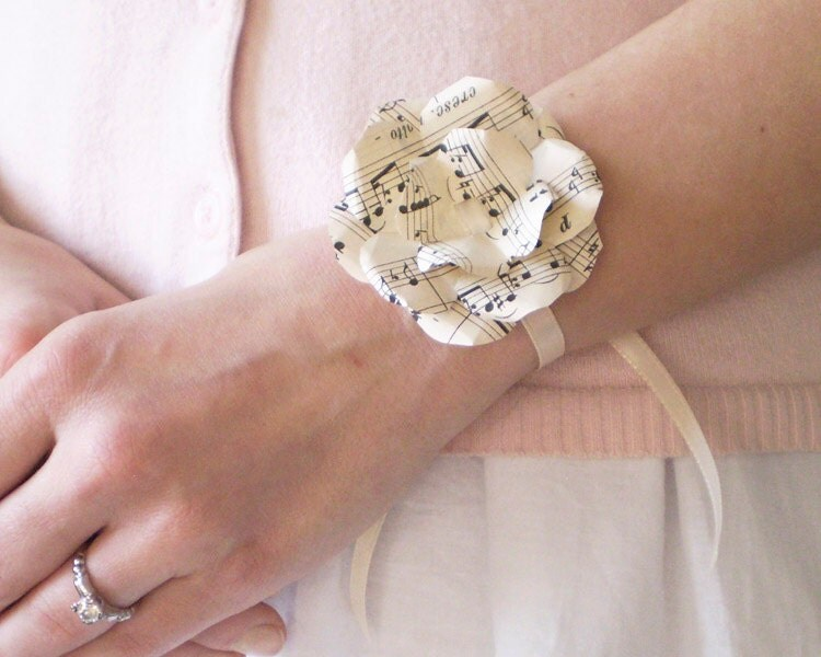 how to make ribbon bows for wrist corsage