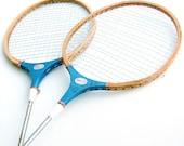 Vintage Badminton Racquets. Set of 2.