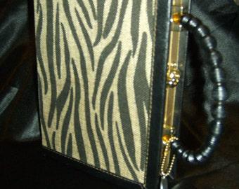 Tiger Book Purse