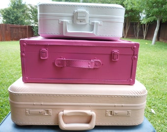 JEZ4U CUSTOM order for 3 suitcases what color would you like or take them just like this