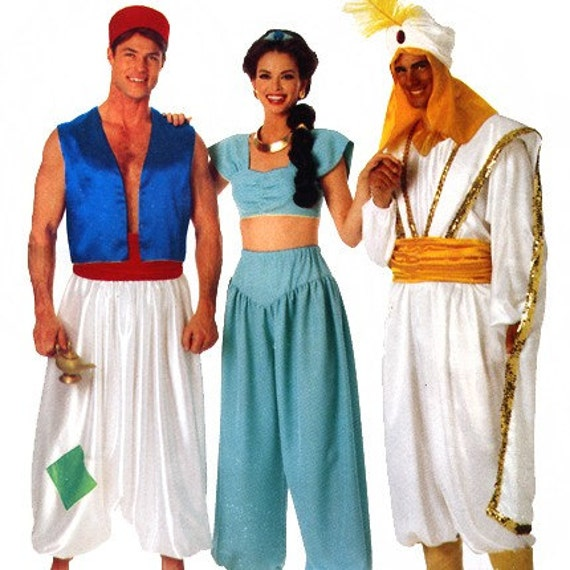 Butterick 3048 Aladdin and Jasmine Costumes Sewing Pattern - uncut - Sizes All