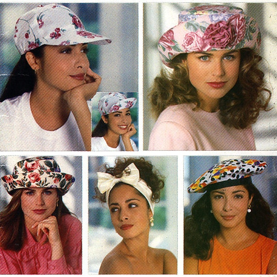 Butterick 5948 Misses' Summer Hats Sewing Pattern - Uncut - All Sizes