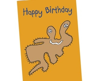 Party Like A Single-Celled Organism Birthday Card