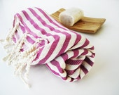 Turkish BATH Towel Peshtemal - Gypsy Pink