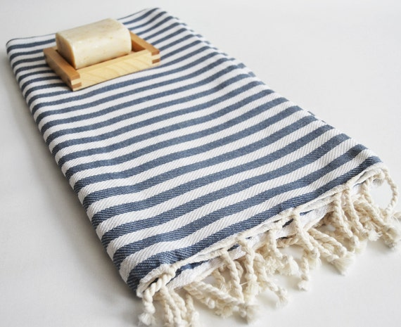 Turkish BATH Towel Peshtemal - Gray No:2