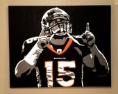 """30"""" x 24"""" Tim Tebow Painting"""