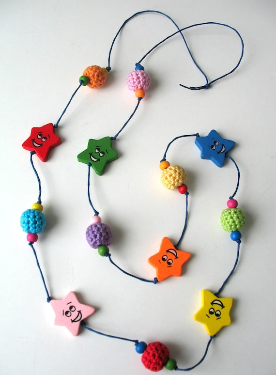 50 % OFF SALE - Smiling Stars Necklace (was 20)