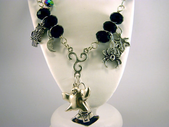 Lovely Witch's Charm Necklace