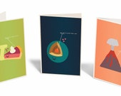 Set of any 3 Greeting Cards