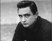 Cross Stitch Pattern Johnny Cash Poster Picture PDF Handmade Famous