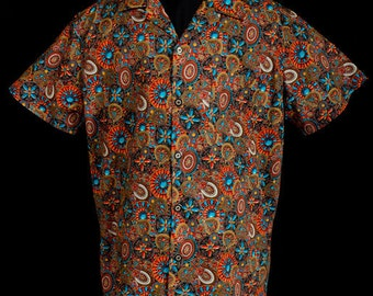 The VERY LAST Aztec Medallions limited-edition ultra-high quality men's shirt