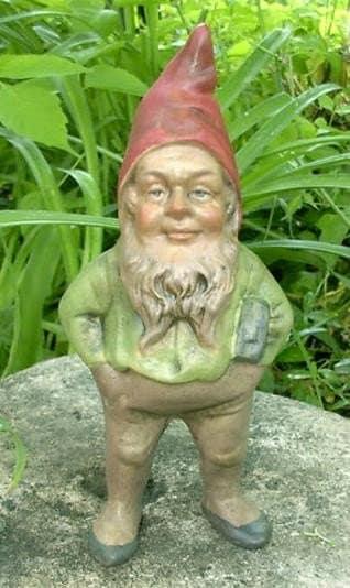 Garden Gnomes On Sale: SALE Sedgewick 9-inch Tall Classic Garden Gnome Item R08-AP