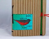Custom order for DIANA recycled cardboard wrap-around journal