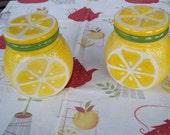 Vintage Lemon Jars