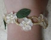 Woven Flower Bracelet