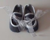 SALE Denim-look Baby Shoes