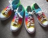 Tie dye Converse, Vans, Toms, etc Custom Dye