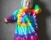 Tie Dye baby bunting
