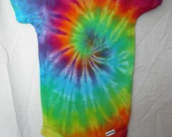 Tie Dye Swirl Onesie