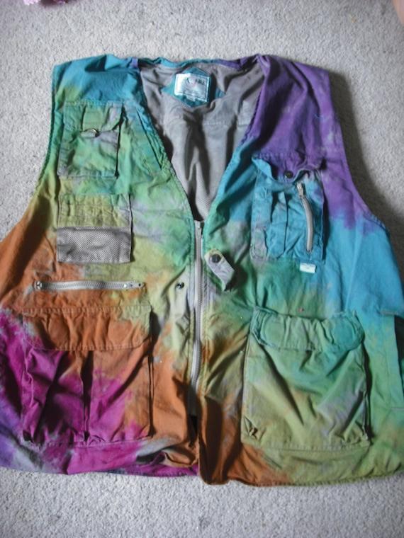 Custom dye job on 2 vests reserved for Solfrid