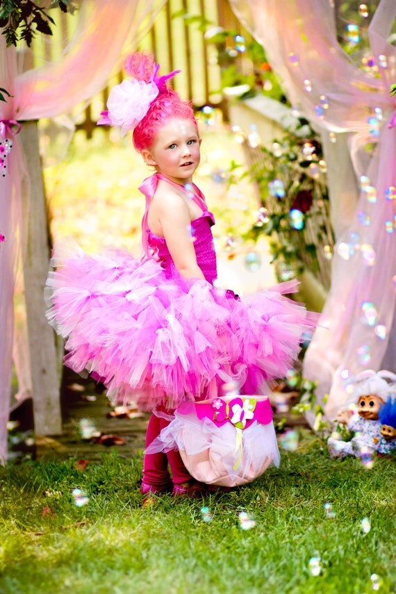 Majestic Pink Troll Costume
