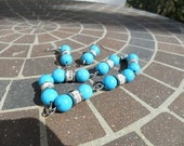 Sparks with Turquoise Bracelet and Earrings