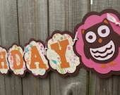 Little Miss Hoot Owl First Birthday Party Package Personalized Pink and Orange