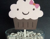 Sugar and Spice Cupcake Toppers Set of 12, Baby Shower or First Birthday Party