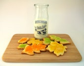 All Natural & Organic Pecan Maple Leaves Butter Cookies (1 dozen)