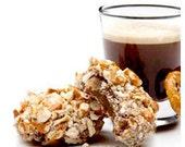 Dark Chocolate Espresso Pretzel Truffle Bites (12 count)