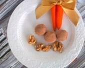 Dark Chocolate Carrot Cake Truffles (16 count)