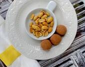Rich Dark Chocolate Organic Peanut Butter Truffles (16 count)