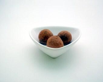 Dark Chocolate Rose Water Truffles (16 count)