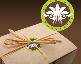 Sampler Gift Box (Organic & Natural Truffles and Cookies.)