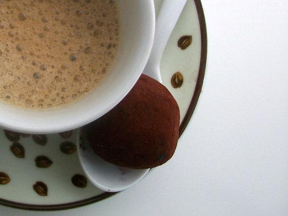 Dark Chocolate and Espresso Truffles (16 count)