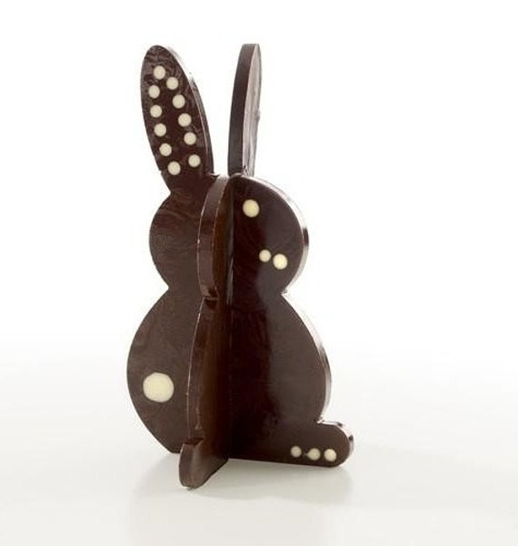 Chocolate 3D Bunny Ready to Decorate (1 Bunny )