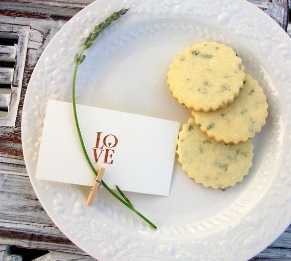 All Natural & Organic Lavender Cookies (1 Dozen)