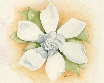 Graceful Symmetry - FREE U.S. SHIPPING - Original Watercolor