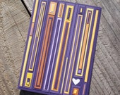 purple heart - A2 original blank card