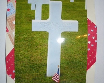 Patriotic Cards Veteran's Day or Memorial Day -- CLEARANCE