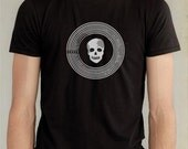 Danger Vinyl Design Tshirt - Men's Sz Large