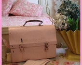 Pale Pink Vintage Lunch Box Oh So Shabby Awesome