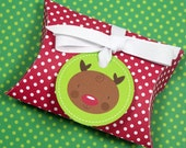 Reindeer Printable Gift Card Pouch