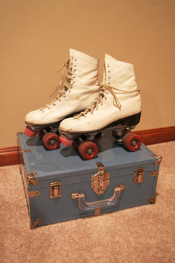 Roller Derby Skates with Hard Case