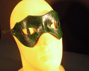 Leather mask - The Snake -