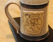 1987 New York RENAISSANCE FESTIVAL Pottery Mug