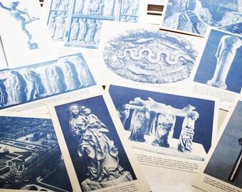 50s Paper Ephemera 28 pieces of Art