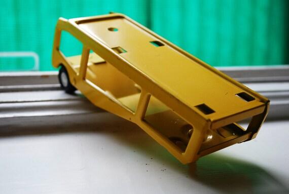 Vintage Tonka Yellow Car Loader