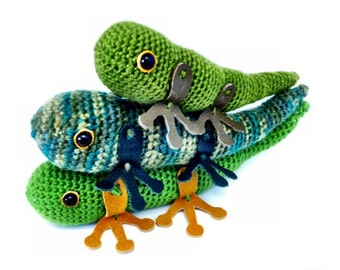 Amigurumi Lizard Crochet Pattern