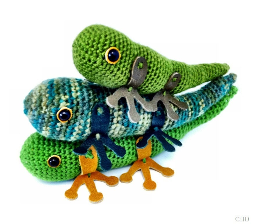 Amigurumi Halloween Free Patterns : Amigurumi Lizard Crochet Pattern by CHDshop on Etsy